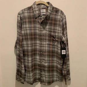 New With Tags Men's Hurley Flannel | Size Med